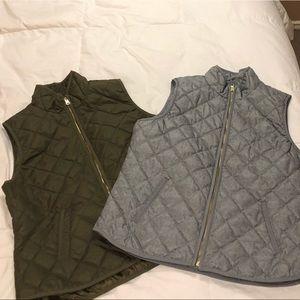 Old Navy Winter Vests